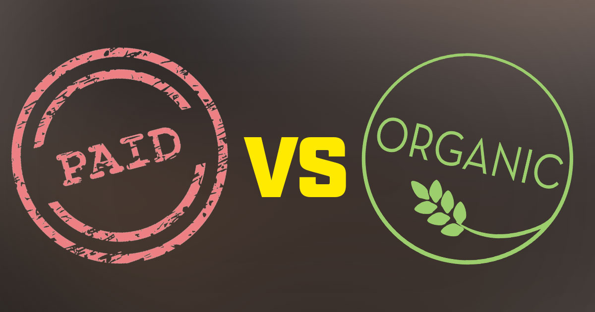 Paid vs  Organic Reach: Which One is Right for You? • Pixel